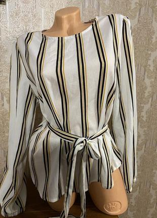 Модная блузка в полоску