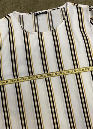 Модная блузка в полоску6 фото