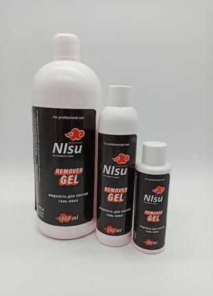 Remover gel nisu (жидкость для снятия гель лака)