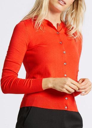 Брендовая кофта джемпер пуловер m&s collection бангладеш вискоза этикетка