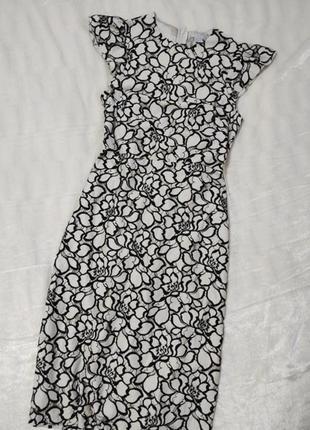 Платье миди футляр карандаш