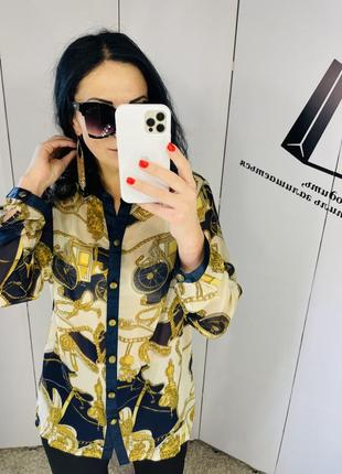 Блуза сорочка бренд alfredo pauly ap розмір м/л ціна 259 грн ✌️✌️