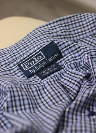 Рубашка в клетку ralph lauren polo3 фото