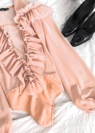 Рубашка боди блуза оригинал шикарный нарядный