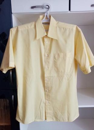 Чоловіча сорочка мужская рубашка marks&spencer