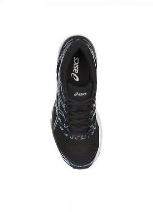 Asics gel excite 4 чёрный голубой black blu bell5 фото