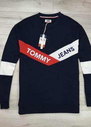 Новый свитшот tommy hilfiger мужская кофта оригинал премиальный хлопок купить украина