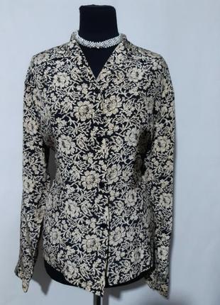 Блуза винтаж, шелк100%