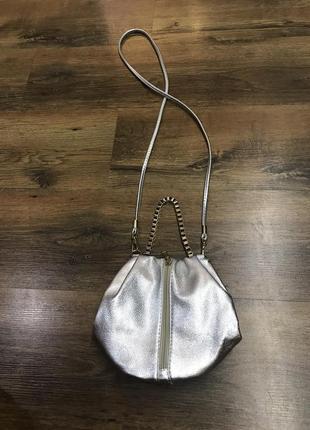 Очень стильная сумка ручка цепочка