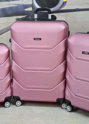 Дорожный чемодан germany  отличная серия сarbon