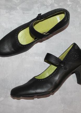 Кожаные туфли от camper 37 размер3 фото