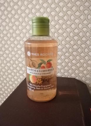 Гель для душа персик-анис