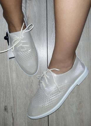 Кожаные туфли /мокасины 🍓 кеды слипоны слипы дышащие на лето / весна2 фото