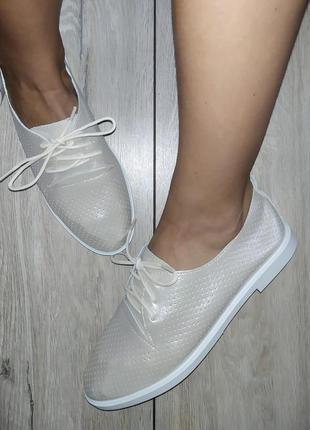 Кожаные туфли /мокасины 🍓 кеды слипоны слипы дышащие на лето / весна3 фото