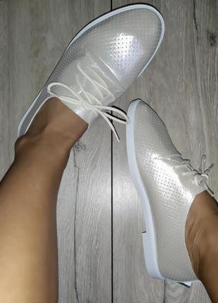 Кожаные туфли /мокасины 🍓 кеды слипоны слипы дышащие на лето / весна