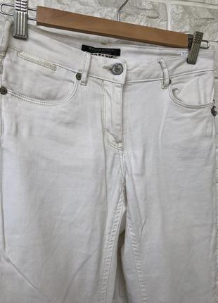 Джинсы оригинал брендовые белые штаны