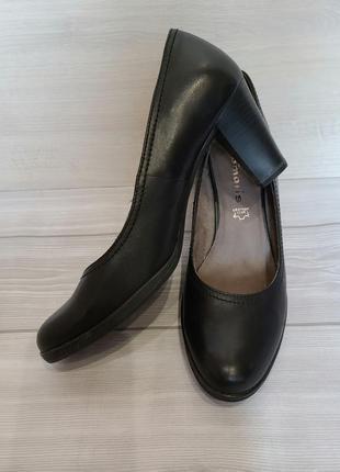 Кожаные туфли, стелька, 27-27,5 см