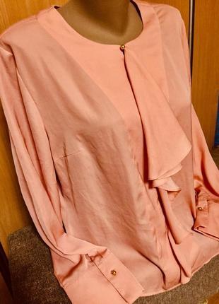 #блуза#рубашка#классика#нарядная#блуза с воланом#2 фото