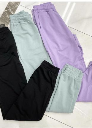 Спортивные штаны, джогеры, женские спортивные штаны, спортивні штани, джогери4 фото