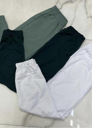 Спортивные штаны, джогеры, женские спортивные штаны, спортивні штани, джогери5 фото