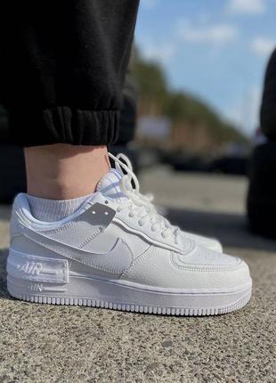 Кеды женские 🥑 air force shadow pale ivor пресс кожа кроссовки дышащие на весна лето