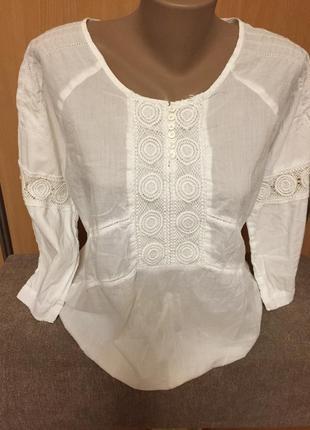 #блуза#блуза с вышивкой#нарядная#рубашка#блуза белая#1 фото