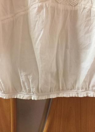 #блуза#блуза с вышивкой#нарядная#рубашка#блуза белая#5 фото