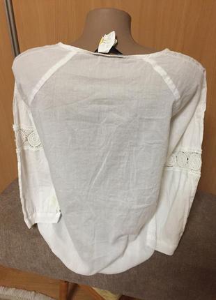 #блуза#блуза с вышивкой#нарядная#рубашка#блуза белая#4 фото