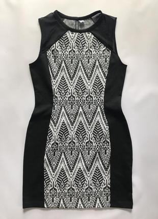 Модное облегающее платье h&m divided . s m