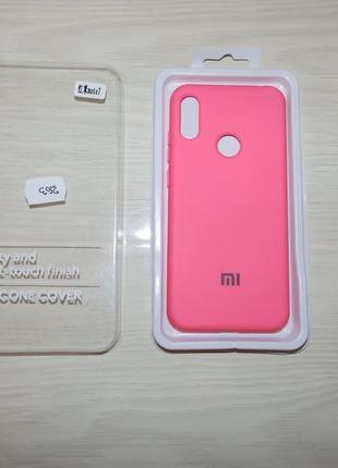 Чехол бампер silicone cover для xiaomi redmi note 7