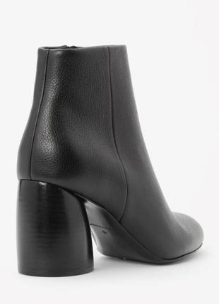 Ботинки cos ботиночки туфли натуральная кожа кожаные ботильоны