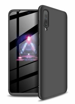 Защитный чехол gkk double dip case для samsung galaxy a70 (a705) - black