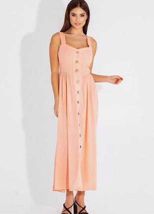 Сарафан длинный платье 4 цвета5 фото