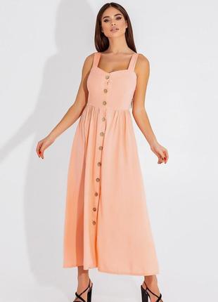 Сарафан длинный платье 4 цвета6 фото