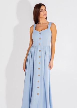 Сарафан длинный платье 4 цвета2 фото