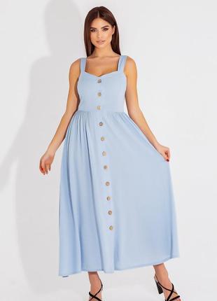 Сарафан длинный платье 4 цвета3 фото