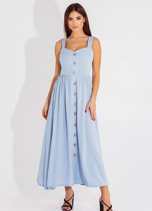 Сарафан длинный платье 4 цвета