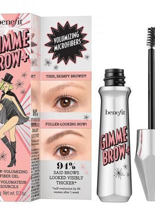 Гель для увеличения объема бровей benefit gimme brow+