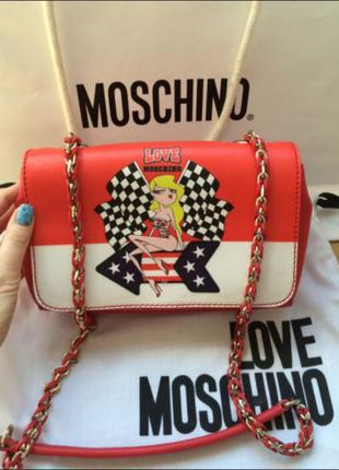 Сумка love moschino!