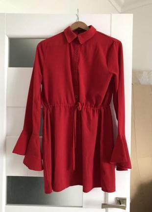 Плаття / сорочка з воланами