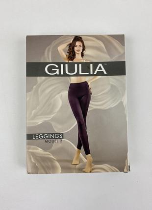 Новые бесшовные чёрные лосины, леггинсы giulia6 фото