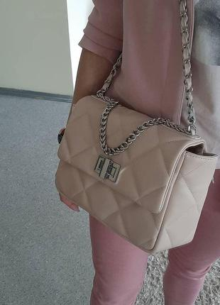 Женская сумка натуральная кожа италия