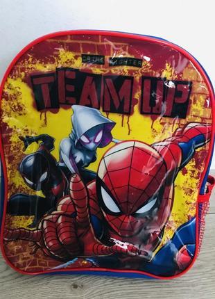Дршкольный рюкзак человек паук speiderman 3-6 лет