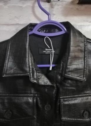 Курточка под кожу3 фото