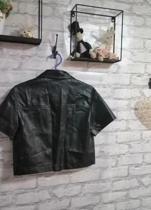 Курточка под кожу8 фото