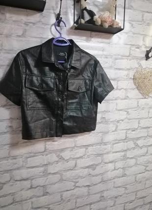 Курточка под кожу2 фото