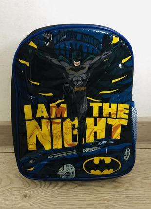 Дошкольный рюкзак бетмен batman