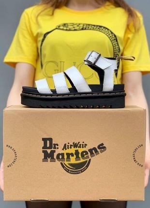 Сандалі dr. martens sandals white
