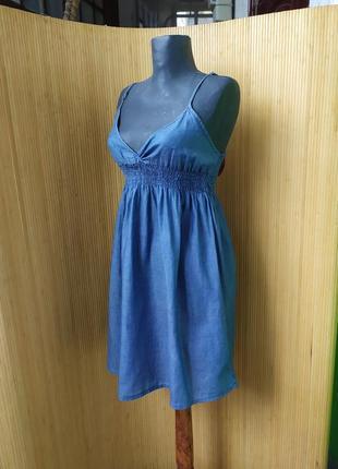Сарафан / платье летнее  тонкий хлопок h&m devided