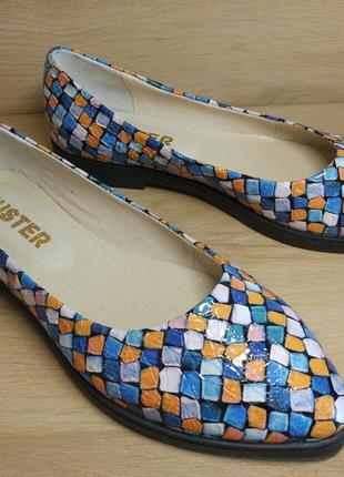 Распродажа! туфли балетки из натуральной кожи. р.36-39.5 фото